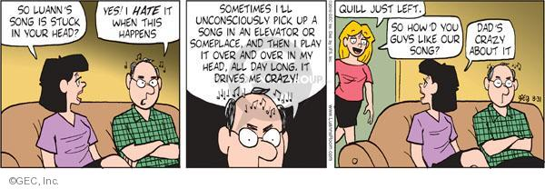 Comic Strip Greg Evans  Luann 2010-08-31 father's day