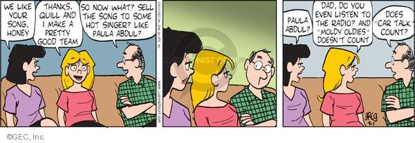 Comic Strip Greg Evans  Luann 2010-09-01 older