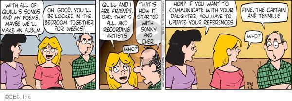 Comic Strip Greg Evans  Luann 2010-09-02 week