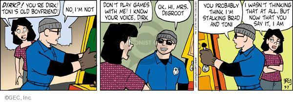 Cartoonist Greg Evans  Luann 2010-09-07 date