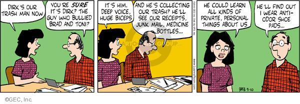 Comic Strip Greg Evans  Luann 2010-09-10 voice