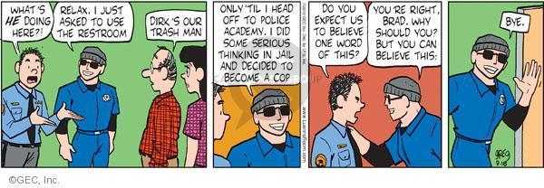 Comic Strip Greg Evans  Luann 2010-09-15 dislike
