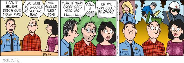 Comic Strip Greg Evans  Luann 2010-09-16 dislike