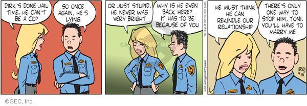 Cartoonist Greg Evans  Luann 2010-09-18 date