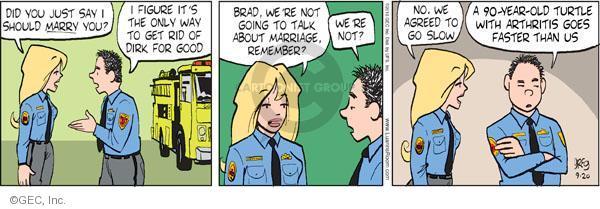 Cartoonist Greg Evans  Luann 2010-09-20 date