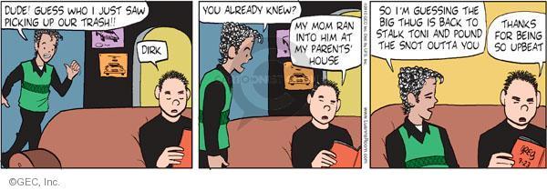 Cartoonist Greg Evans  Luann 2010-09-23 date