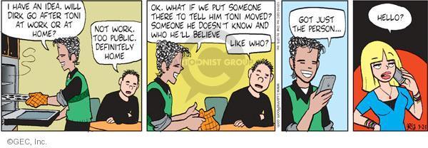 Comic Strip Greg Evans  Luann 2010-09-25 ex-boyfriend