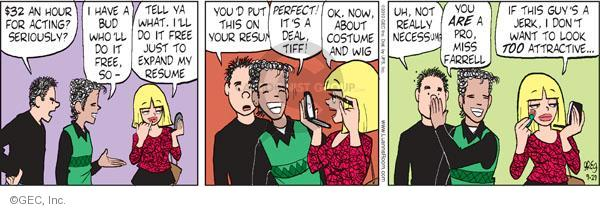 Comic Strip Greg Evans  Luann 2010-09-29 Donna