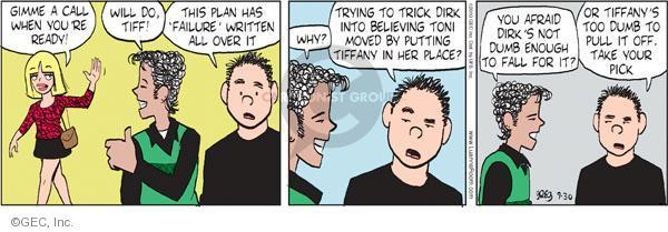 Comic Strip Greg Evans  Luann 2010-09-30 Toni