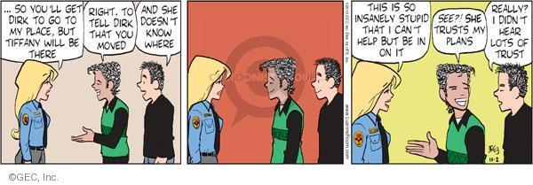 Comic Strip Greg Evans  Luann 2010-10-02 right place