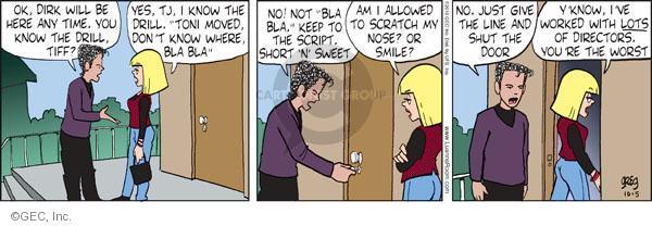 Comic Strip Greg Evans  Luann 2010-10-05 instruction