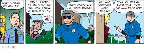 Comic Strip Greg Evans  Luann 2010-10-14 accusation