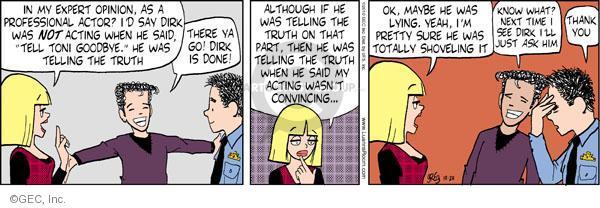 Comic Strip Greg Evans  Luann 2010-10-20 Toni