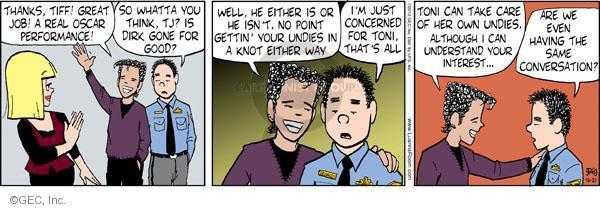 Comic Strip Greg Evans  Luann 2010-10-21 Toni