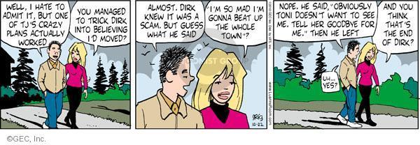 Comic Strip Greg Evans  Luann 2010-10-22 ex-boyfriend