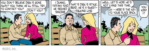 Comic Strip Greg Evans  Luann 2010-10-23 liar