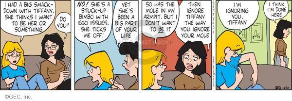 Comic Strip Greg Evans  Luann 2010-10-30 teen