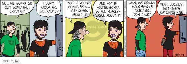 Comic Strip Greg Evans  Luann 2010-11-08 catch