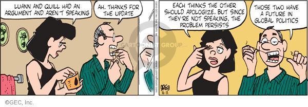 Comic Strip Greg Evans  Luann 2010-11-11 global