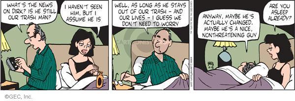 Comic Strip Greg Evans  Luann 2010-11-12 nice guy