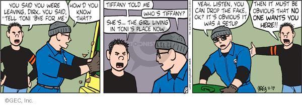 Comic Strip Greg Evans  Luann 2010-11-17 Toni