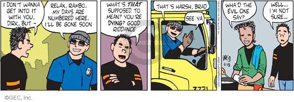 Comic Strip Greg Evans  Luann 2010-11-18 number