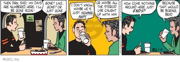 Comic Strip Greg Evans  Luann 2010-11-19 number