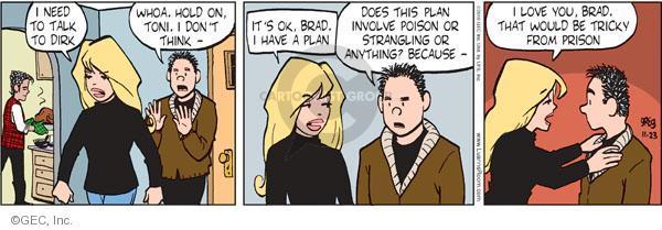 Comic Strip Greg Evans  Luann 2010-11-23 Toni