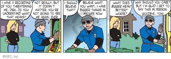 Comic Strip Greg Evans  Luann 2010-11-26 belief