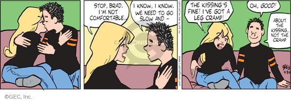 Comic Strip Greg Evans  Luann 2010-11-30 comfort