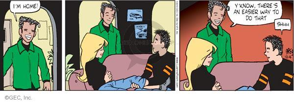 Cartoonist Greg Evans  Luann 2010-12-04 pleasant
