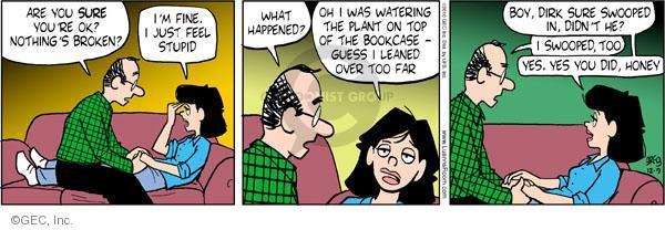 Comic Strip Greg Evans  Luann 2010-12-09 watering plant