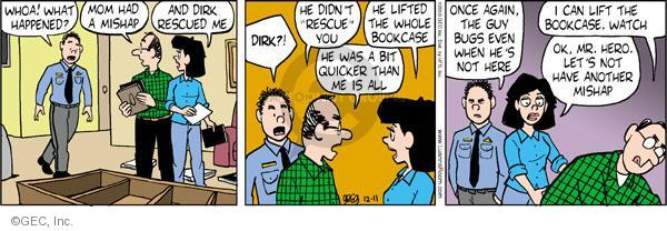 Comic Strip Greg Evans  Luann 2010-12-11 Dirk