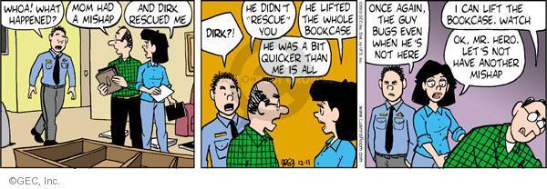 Comic Strip Greg Evans  Luann 2010-12-11 lift