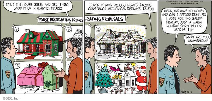 Comic Strip Greg Evans  Luann 2010-12-12 $2,000
