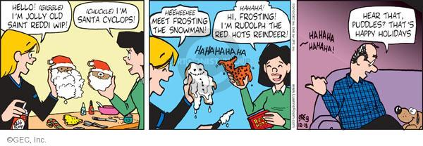 Comic Strip Greg Evans  Luann 2010-12-18 bake