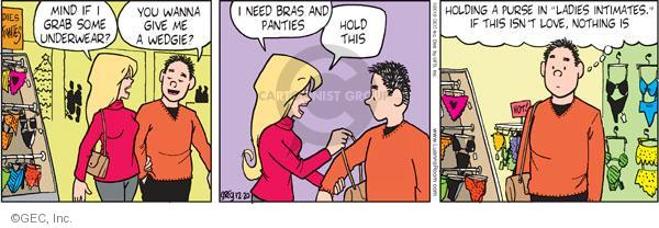 Comic Strip Greg Evans  Luann 2010-12-20 affection