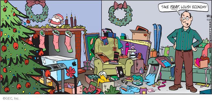 Comic Strip Greg Evans  Luann 2010-12-26 gift giving