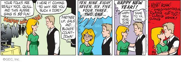 Comic Strip Greg Evans  Luann 2010-12-31 ding