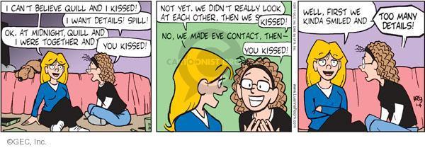 Cartoonist Greg Evans  Luann 2011-01-04 first love