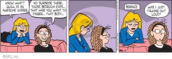 Comic Strip Greg Evans  Luann 2011-01-05 bedroom