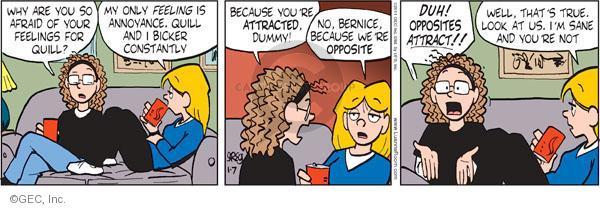 Comic Strip Greg Evans  Luann 2011-01-07 feel
