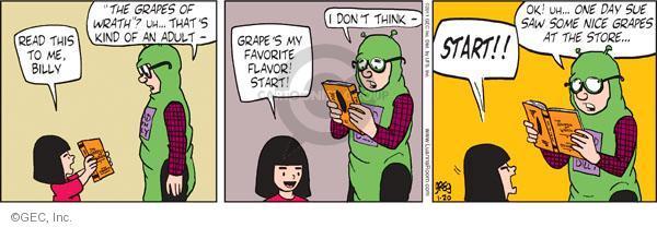 Comic Strip Greg Evans  Luann 2011-01-20 grownup