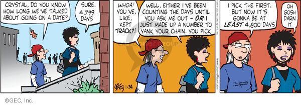 Comic Strip Greg Evans  Luann 2011-01-24 number