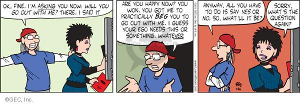 Comic Strip Greg Evans  Luann 2011-01-26 win