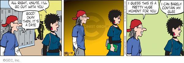 Comic Strip Greg Evans  Luann 2011-01-27 good boy