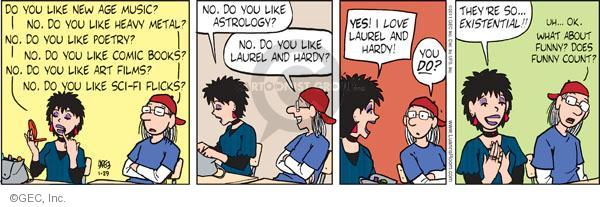 Comic Strip Greg Evans  Luann 2011-01-29 fantasy