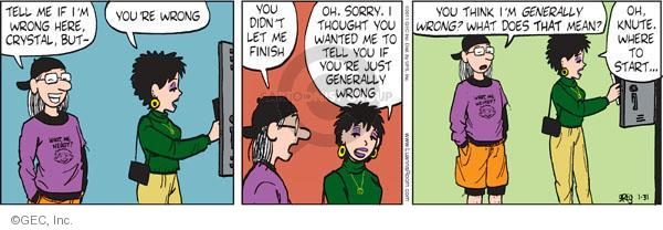 Comic Strip Greg Evans  Luann 2011-01-31 begin