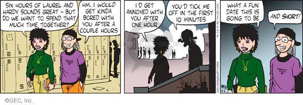 Comic Strip Greg Evans  Luann 2011-02-02 teen