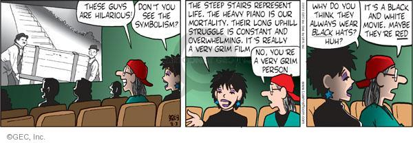 Comic Strip Greg Evans  Luann 2011-02-03 hopeless